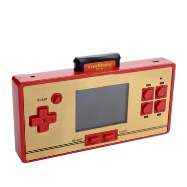 Built-in 600 Classic Games Konsole tragbare Handheld-Spiel Retro-Videospiel Unterstützung TV AV-Ausgang