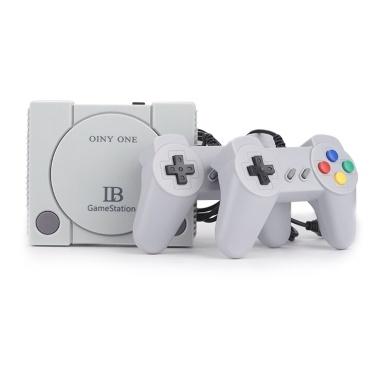 Mini HD 16Bit TV-Spielekonsole Eingebaut in 648-Game mit doppelter Gamepad-Steuerung