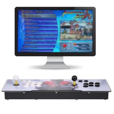 9D Arcade Console 2700 in 1 Arcade-Spielstation Maschine 2 Spieler Steuerung Joystick Arcade-Tasten HD VGA-Ausgang USB für PC TV Laptop Projektor