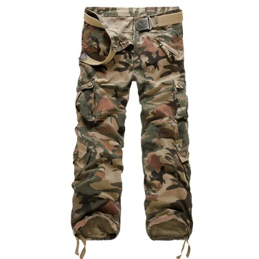 Men's Camouflage Military Tactical Casual Outdoor Cargo Pants