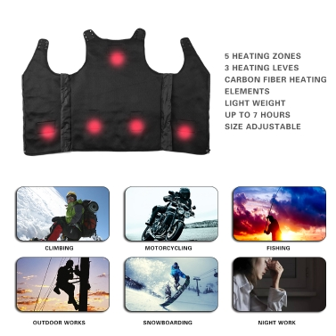 Rechargeable Heated Body Warm Vest