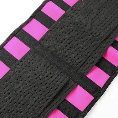 Women Waist Cincher Hot Shaper Body Trainer Slimming Belt Boned Corset Underbust Shapewear Rose
