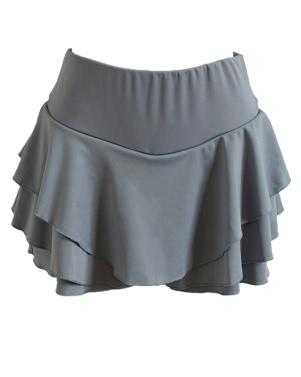 Neue Art- und Weisefrauen-mini gefaltete Schicht-Rock-MikroSleepwear A-Linie hohe Taille Weinlese-Partei-Schwingen-Rock