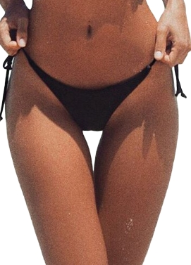 Sexy Women V-Shape Bikini Bottom Tie Side Swim Brief Brazilian Panties Swimwear Beach Thong Underwear