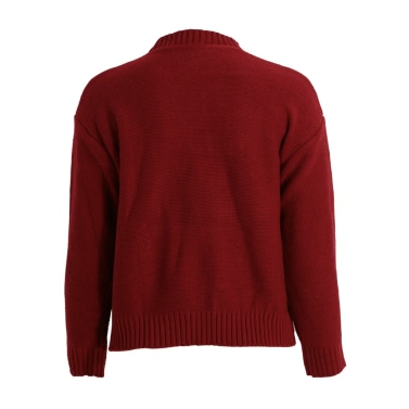 Fashion Women Hollow Out Sweater Strap Plunge V Front Dropped Shoulder Long Sleeve Knit Crop Top