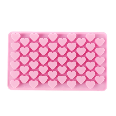 61% OFF 55 Sweet Hearts Silicone Chocola