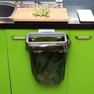 1 pcs Pendurado Saco De Lixo Titular Porta Armário de Cozinha Organizador De Lixo