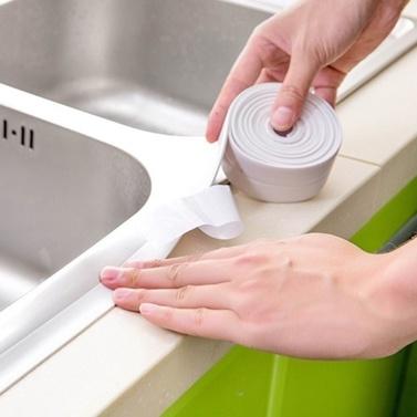 Küche-Badezimmer-Wand-Dichtungs-Ring-Band-wasserdichter Form-Beweis-Kleber