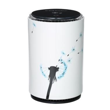 Royalstar Tragbare Keramik Luftreiniger mit True HEPA Filter USB Mini Luftreiniger Nachtlicht Zigarettenrauch Geruchsbeseitiger für Home Office