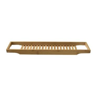 Bamboo Bathtub Rack Bathtub Caddy Tray Bathroom Shower Organizer Holder