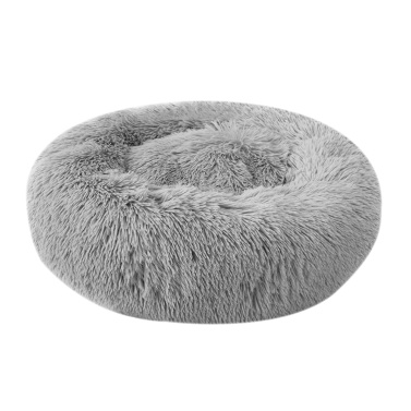 Blusea Soft Plush Round Pet Bed