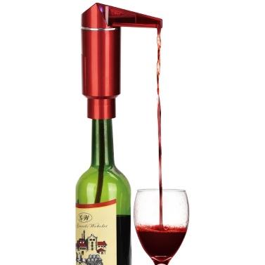 Elektrische Weinkaraffe Automatische Weinbelüfter-Spenderpumpe Rot- und Weißweinzubehör für Anfänger