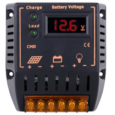 10a 12V/24V LCD-Display Solar Charge Controller Auto Regler Batterie Sonnenkollektorsystem überladen Schutz