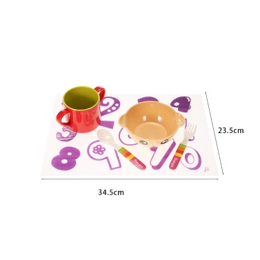 Waterproof Silicone Rectangle Placemat Kitchen Dining Table Insulation Mat Coaster