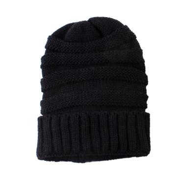 Mode Männer Frauen Jugendliche Herbst-Winter-warme Unisex elastischen Kopf Schädel-Kappen-Knit Gestrickte Wolle HäkelarbeitBeanie Ski Leer Farbe Hüte