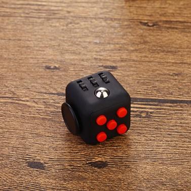 6-Seite Fidget Würfel Würfel Achtung Fokus Spielzeug Angst Stress Relief Kinder Erwachsene Weihnachten Weihnachtsgeschenk