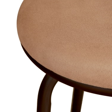 iKayaa Antique Swivel Barstool with Backrest Metal Frame Kitchen Dining Chair Foam Padded 120KG Capacity