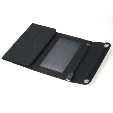5W 5V Outdoor Foldable Monocrystalline Silicon Solar Panel Charger Portable USB Charger for Mobile Phone Power Supply