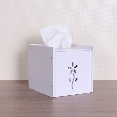 Toilet Tissue Box Durable Napkin Holder DIY Home Decoration Water-resistant Paper Storage Box Container Case