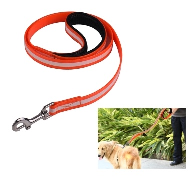 SSL004TY TPU Glow Waterproof Dog Leash Night Safety Dog Working Leash Lead for Medium and Large Dog