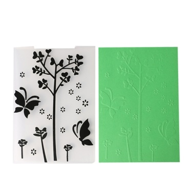 Template Textured Impressions Decorative Frame Embossing Folder Cake Biscuit Fondant Mold Card Craft Making Wedding Decoration Style 1