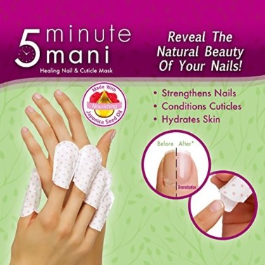 28% OFF 5 Minute Mani Healing Nail & Cuticle Mask,limited offer $6.99