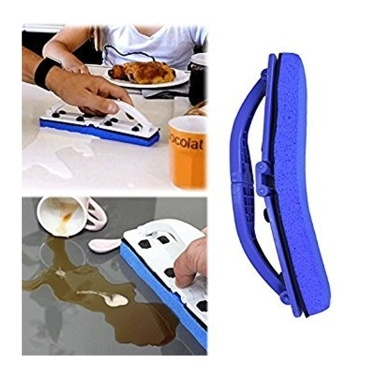 57% OFF Blue Sponge Flexi Brush with Handle for Window,Desk and Kitchen,limited offer $6.66