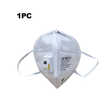 1pcs 9001V  Anti Fog Haze Mask