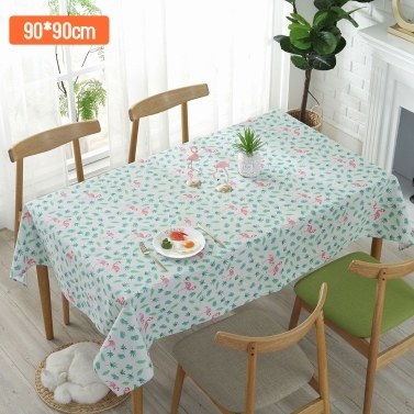 Bird Cotton Linen Table Cover