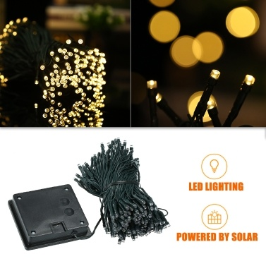 Solar String Lights 72ft 200 LED Rope Light Sales Online 01# - Tomtop