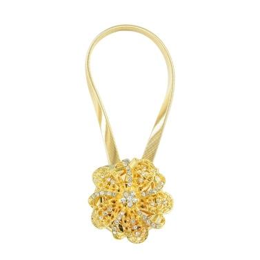 Magnetischer Blumenvorhang Raffhalter Dekorativ