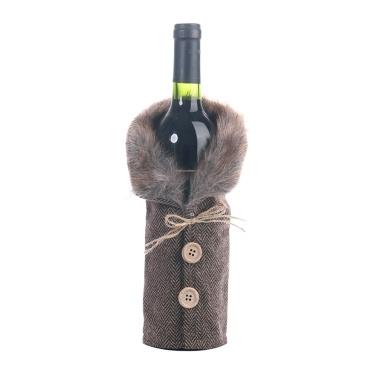 Weinflasche Cover Weihnachtsschmuck