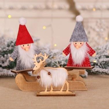 Weihnachtssankt-Puppen-Verzierung