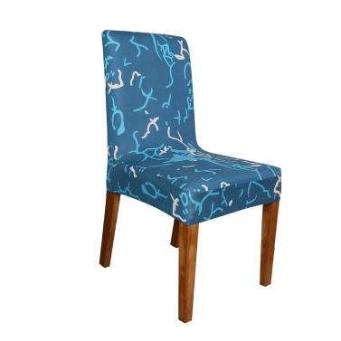 Gedruckter Stuhlbezug aus weicher Milchseide