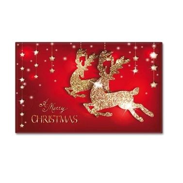 Weihnachten Stil Teppich Fußmatte Boden Teppich rutschfeste Matte Frohe Weihnachten Home Decoration Fußmatte
