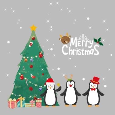 Farbe Weihnachten Aufkleber Auto Glas Aufkleber Weihnachten hängen Drop Fenster Aufkleber Dekoration Aufkleber