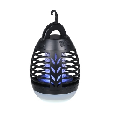 USB Rechargeable Mosquito Killing Lamp IPX6 Water-resistant Bug Zapper Flying Insect Killer Repellent