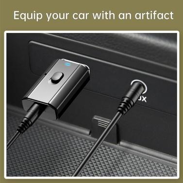 4 in 1 USB BT Wireless Adapter Sender Empfänger Musik Audio für PC TV Auto Freisprecheinrichtung 3,5 mm AUX Adapter