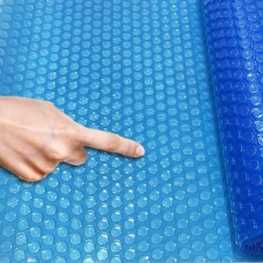 Runder Solar-Poolabdeckungsschutz 4/5/6 / 8ft, oberirdischer Poolschutz Bodenschutzabdeckungsdurchmesser Easy Set und Rahmenpools