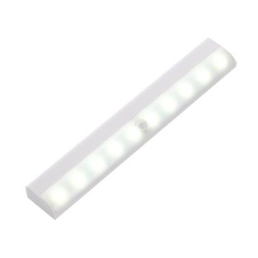 Sensore di movimento della luce dell'armadio a LED 10 LED