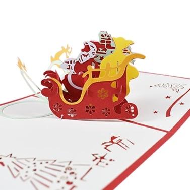 Cartoline di Natale pop-up 3D