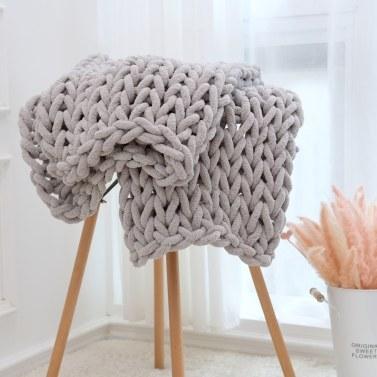 Handmade Knitted Blanket