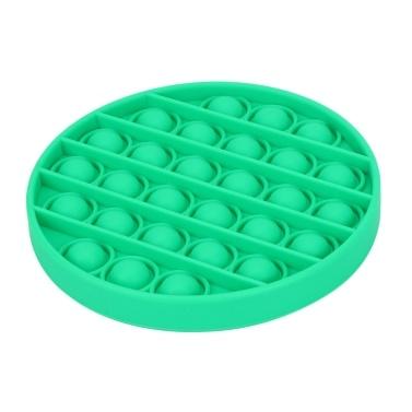 Сенсорная игрушка Pop Bubble Fidget (круглый , зеленый)