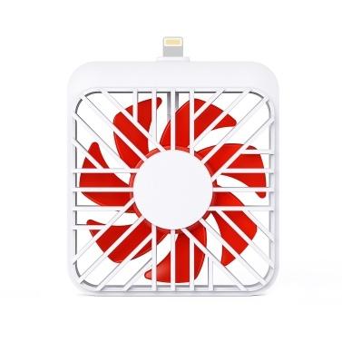 Tragbarer Mini-USB-Lüfter Kompatibel mit iPhone-Anschluss
