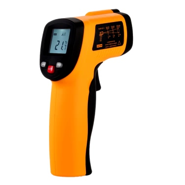 KKmoon GM550 Non-contact 12:1 Digital Infrared IR Thermometer Temperature Gun Tester Range -50~550u00b0C (-58~1022u00b0F)