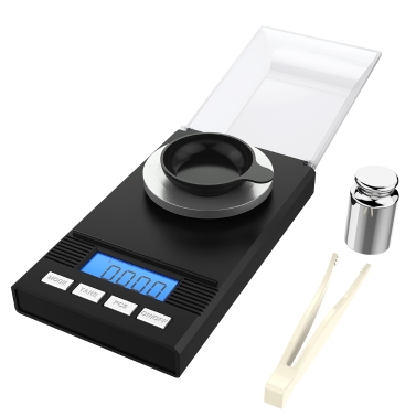 Homgeek Digital Milligram Pocket Scale Mini Jewelry Gold Powder Weigh Scales