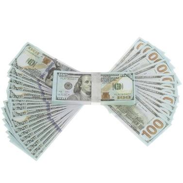 Billets commémoratifs de billet de banque de billets de 100PCS Dollar Bill