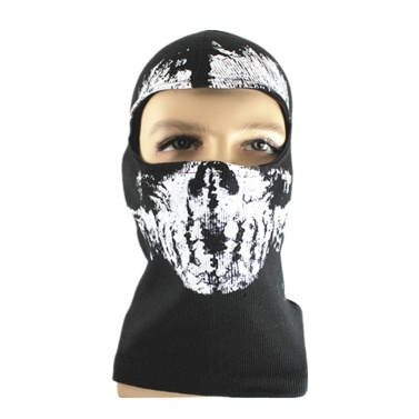 Geisterschädel Maske Full Face