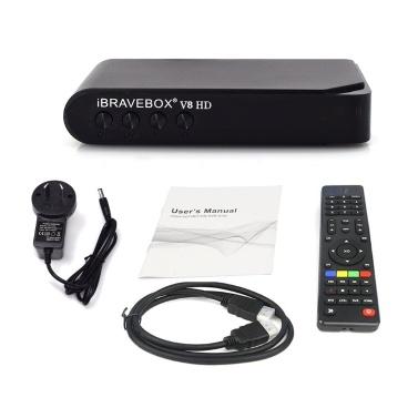 79% de réduction sur le lecteur TV intelligent V8 HD TV Satellite seulement € 17,63 sur tomtop.com + livraison gratuite