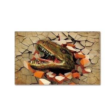 400*600mm 3D Dinosaur Printed Pattern Floor Mat Carpet